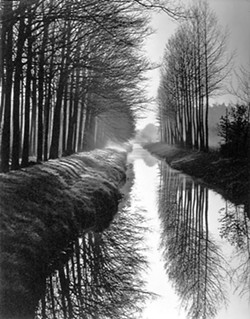 "PHOTO BY BRETT WESTON - FROM THE HUMBOLDT COLLECTION - ""Canal"" Holland - 1971"