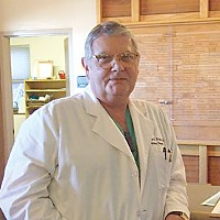 Mending Broken Hearts Cardiac surgeon Joachim Postel (shown here) and operating room head Dr. Ellen Mahoney believe the hospital is in a renaissance. Photo by Carol Harrison