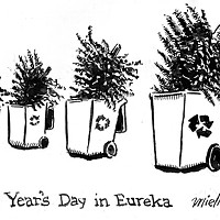 New Year's Day in Eureka