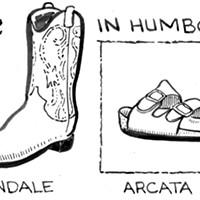 Stylin' Footwear In Humboldt County