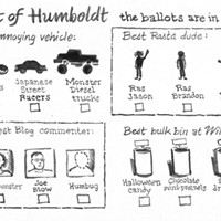 Best of Humboldt: The ballot are in...