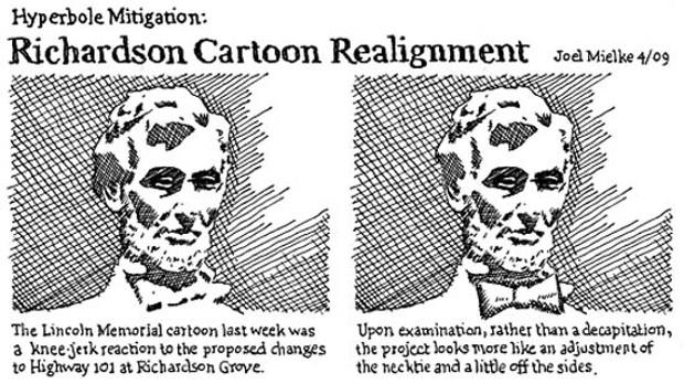 Richardson Cartoon Realignment