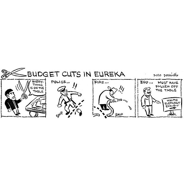 Budget Cuts in Eureka