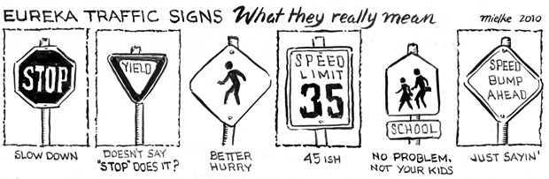 Eureka Traffic Signs