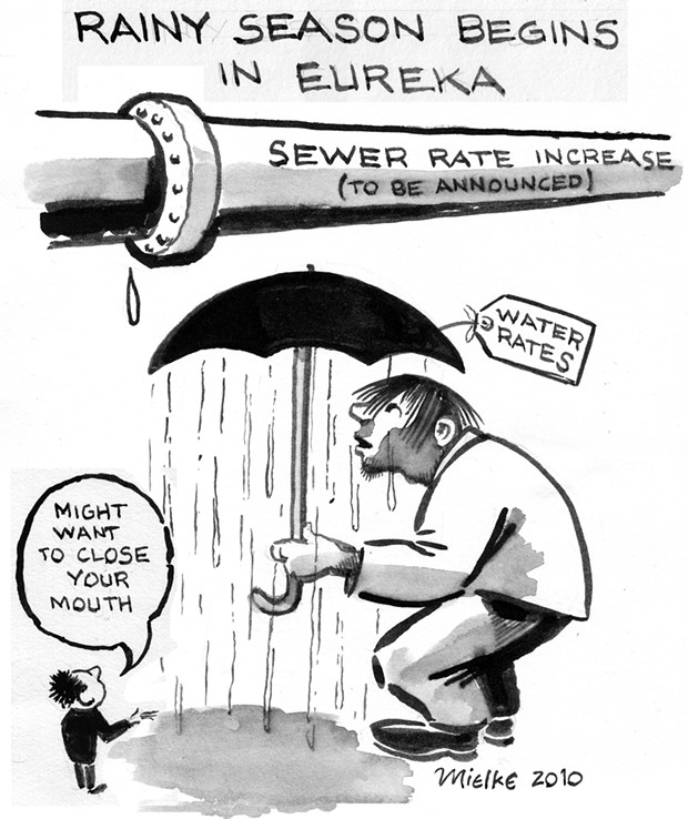 Rainy Season Begins in Eureka