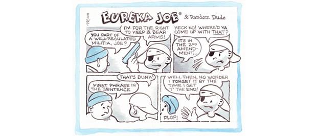 Eureka Joe & Random Dude