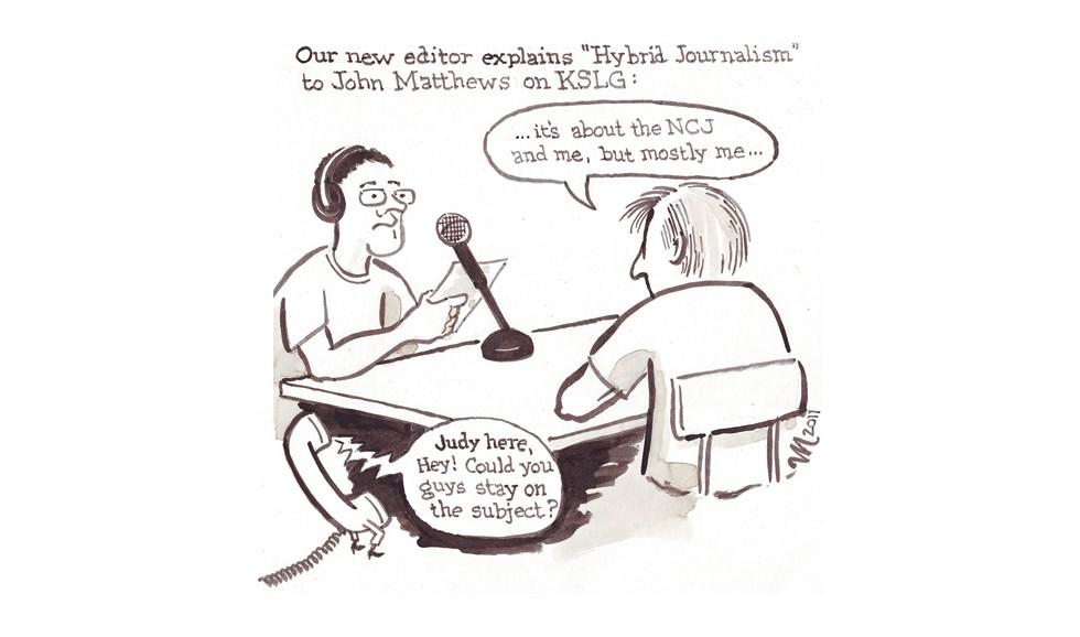 Cartoon by Joel Mielke