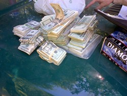 Cash seized totaled $198,000. - HUMBOLDT COUNTY SHERIFF'S OFFICE