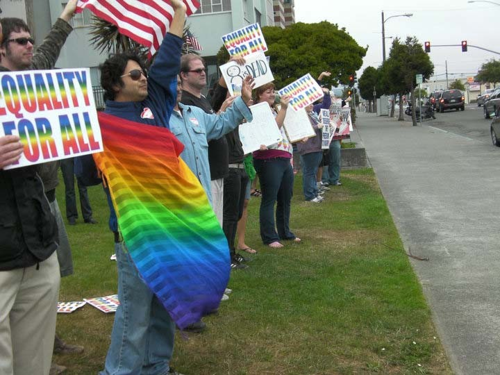 Celebrations after Prop 8 was declared unconstitutional in 2010.