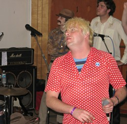 PHOTO BY BOB DORAN - Chris from Eureka Garbage Co. at Bummerfest 2006