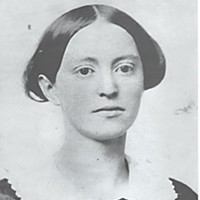 The Sonoma Gang Clarissa Hanna Wood, wife of L.K. Wood. Courtesy of Humboldt State University Library, Humboldt County Collection.