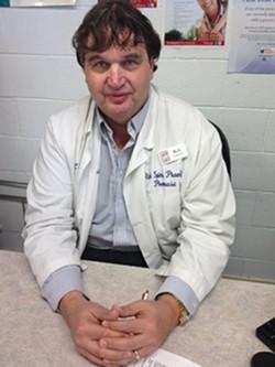 PHOTO BY HEIDI WALTERS - Cloney's Pharmacist Rich Spini