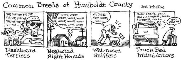Common Breeds of Humboldt County