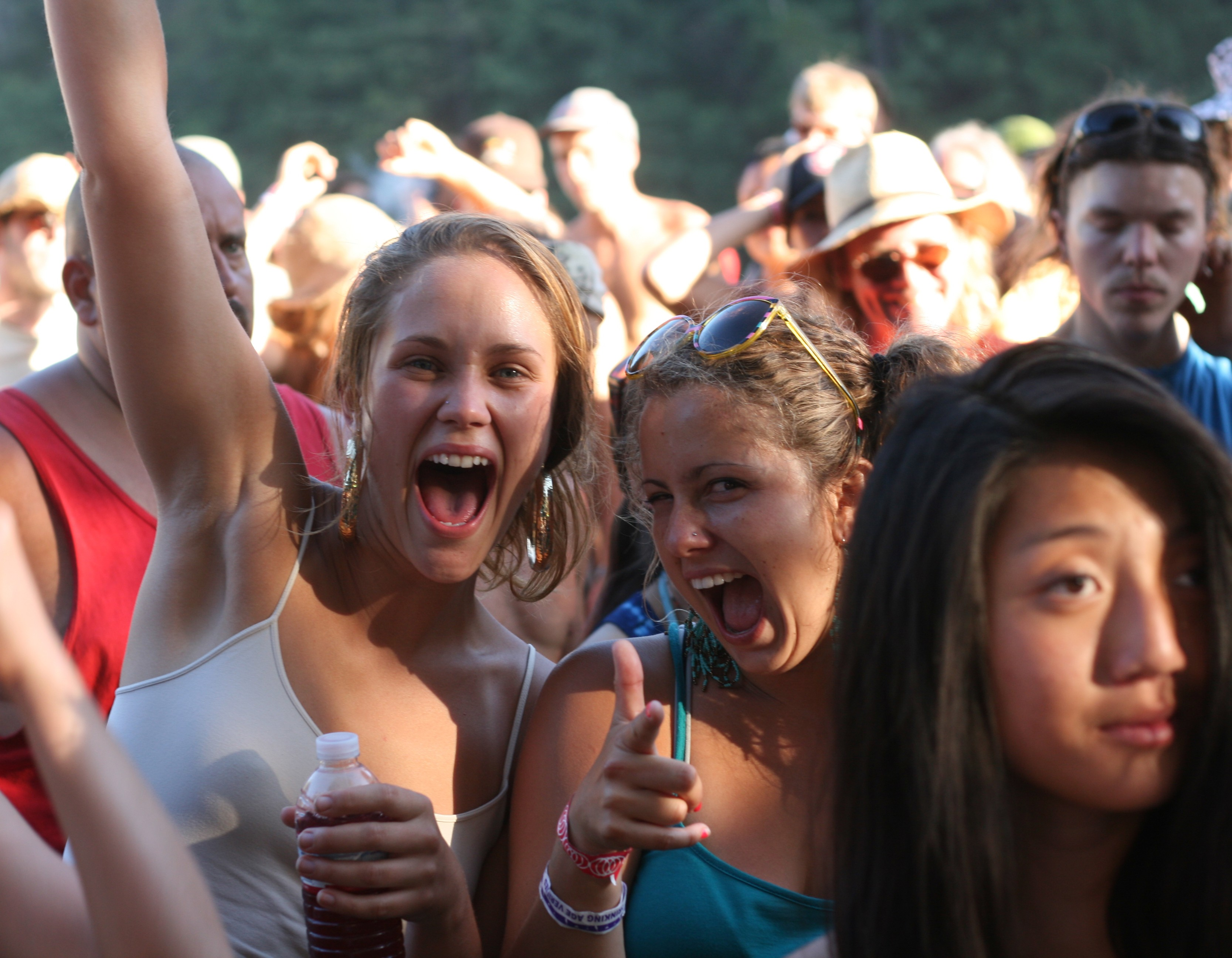 Concertgoers at Reggae on the River - PHOTO BY BOB DORAN