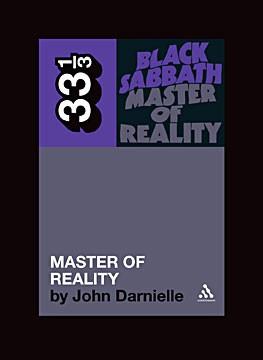 Continuum's 33 1/3 series' 'Black Sabbath, Master of Reality'