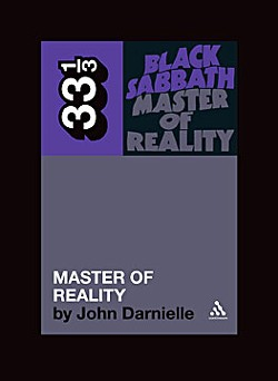 Continuum's 33 1/3 series' 'Black Sabbath, Master of Reality'