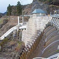 The Top 10 Stories of 2009 Copco Dam on the Klamath River. Photo courtesy of the U.S. Dept. of the Interior.