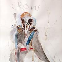 """Keeping the Faith """"Crow"""" by Rick Bartow"""