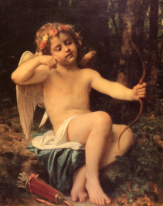 Cupid's Arrows - LEON BAZILE PERRAULT