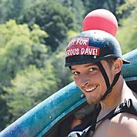 Salmon River Race Dan Menten, the victor. Photo by Kim Stewart.