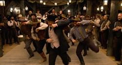 Dance it out, fellas.