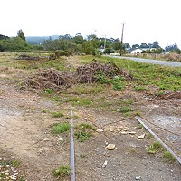Growing Pain Danco proposed building Arcata's first rail-to-trail at Creek Side Homes. Photo by Ryan Burns