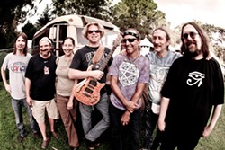 PHOTO BY BOB MINKIN - Dark Star Orchestra Monday at the Eureka Theater -Dark Star Orchestra Monday at the Eureka Theater.