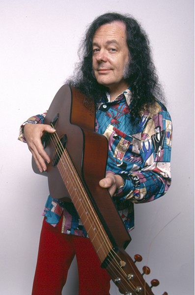 David Lindley - PHOTO BY NEIL ZLOZOWER