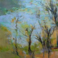 """""""Different but Not"""" Delicate Connections pastel by Victoria Ryan"""