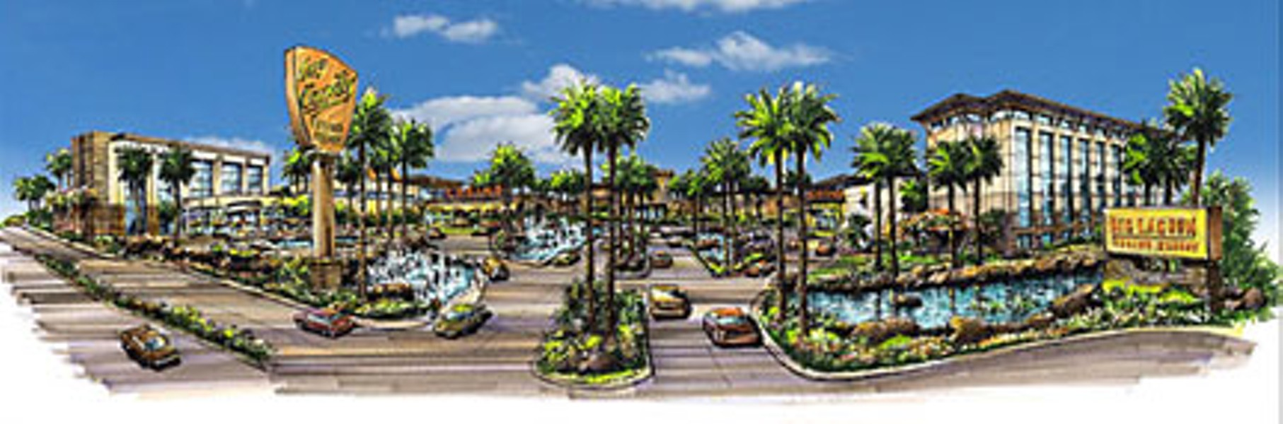 Desert oasis? The Big Lagoon Rancheria sure hopes so.  Drawing courtesy Big Lagoon Rancheria.