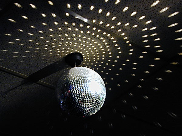 Disco ball. Photo by Bob Doran