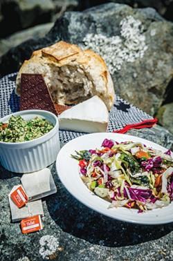 DIY picnic by Eureka Natural Foods - CHUCK JOHNSON