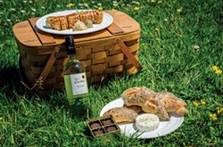 DIY picnic by North Coast Co-op - CHUCK JOHNSON
