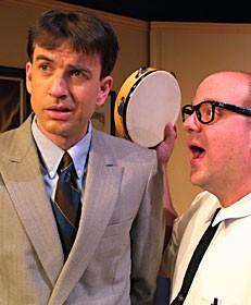 Doug Anderson as Willum, Dmitry Tokarsky as Rick.  Photo courtesy of NCRT.