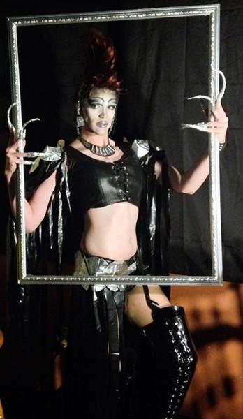 Drag Wars winner Annie Hart gets her close-up. - JENNIFER FUMIKO CAHILL