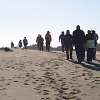 Saving Sam Dune walk at Lanphere in early December. Photo by Heidi Walters