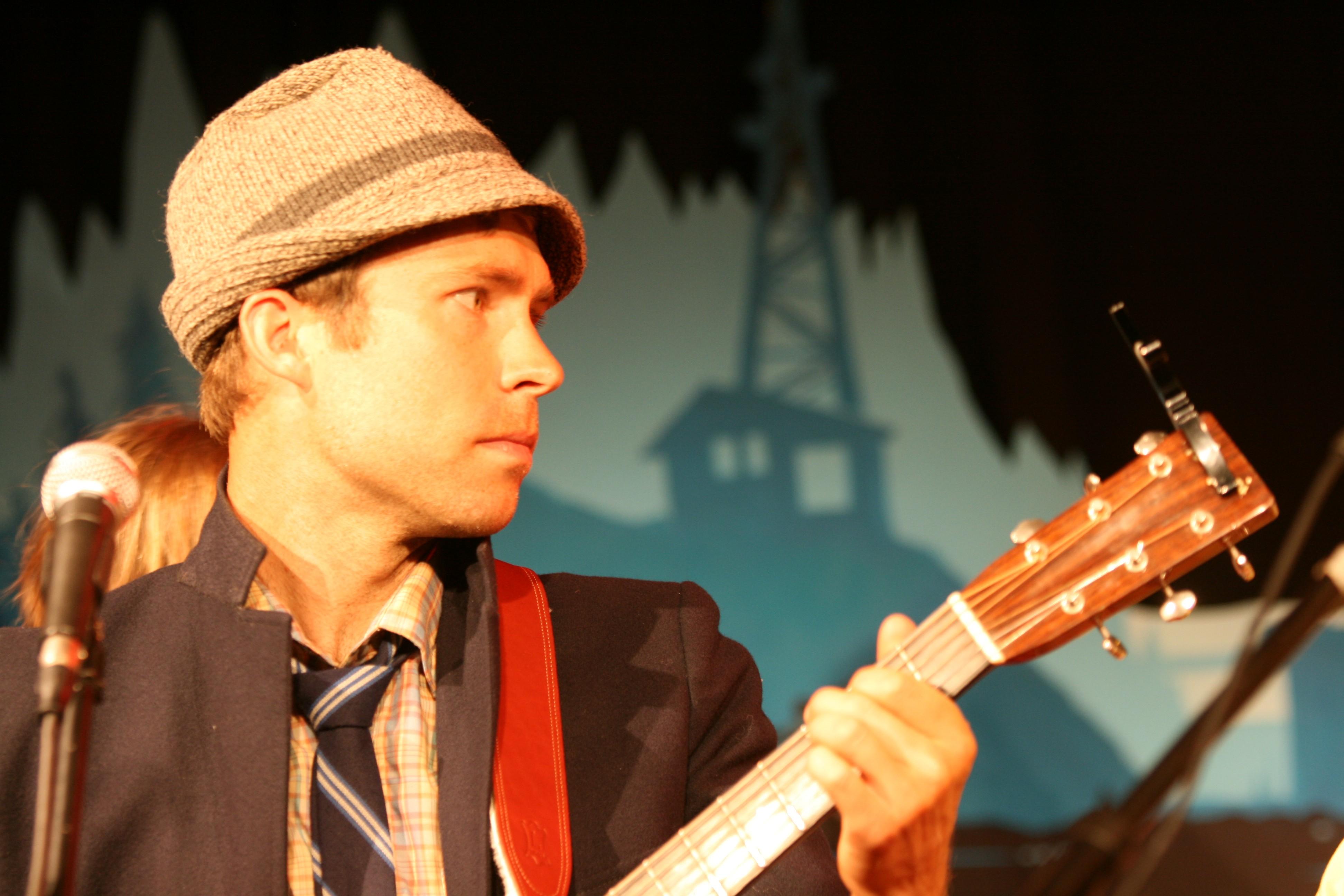 Dustin Taylor from Huckleberry Flint - PHOTO BY BOB DORAN