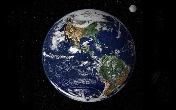 Earth - COURTESY OF NASA AND WIKIPEDIA