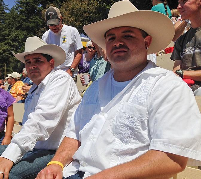 Eddie Torrez and Seth Vasquez - JENNIFER FUMIKO CAHILL