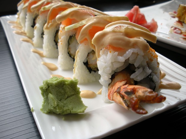 Enter the Golden Dragon roll. - JENNIFER FUMIKO CAHILL