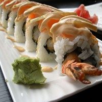 Enter the Golden Dragon roll.
