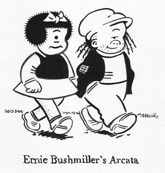 Ernie Bushmiller's Arcata - JOEL MIELKE