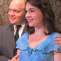 Evan Needham and Molly Harvis       are the lovers who cause farcical family conflict in You Can't Take It With You.