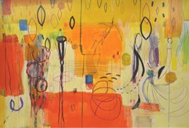 Exuberance No. 2 by Mimi LaPlant