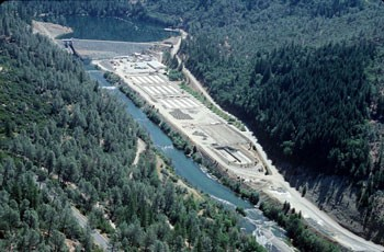 Lewiston Dam - PHOTO COURTESY OF BUREAU OF RECLAMATION