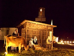 First Covenant's live nativity in Eureka.