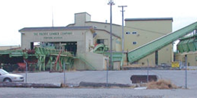 Top 10 Stories of 2008 Fortuna's Palco mill, NCJ file photo