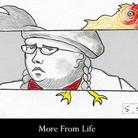 Art on Film Frames from Stephen Vander Meer's animated film More from Life.