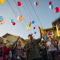 Scenes From Friday's Shooting Vigil