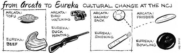 From Arcata to Eureka